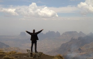 JORGE EN EL PARQUE NACIONAL SIMIEN MOUNTAINS