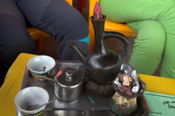 CAFÉ JUNTO AL LAGO TANA, BAHIR DAR