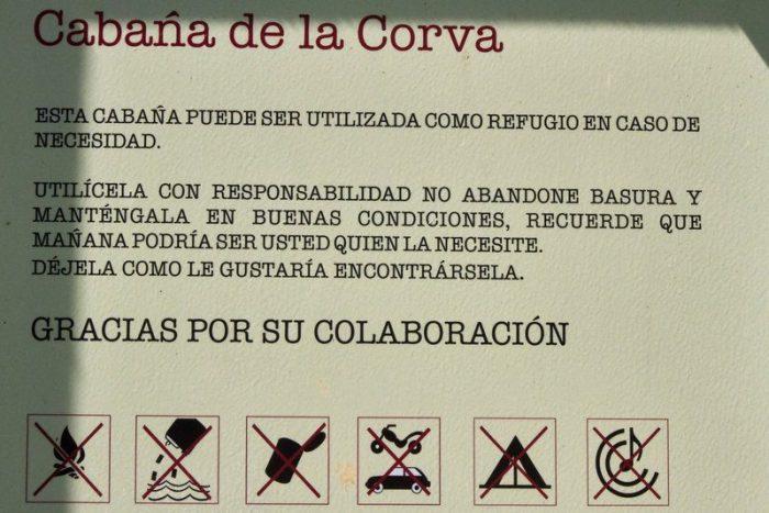 CABAÑA DE LA CORVA