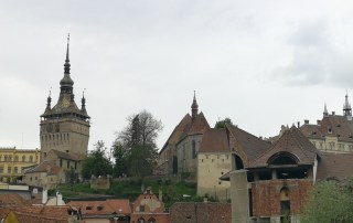 SKYLINE DE SIGHISOARA
