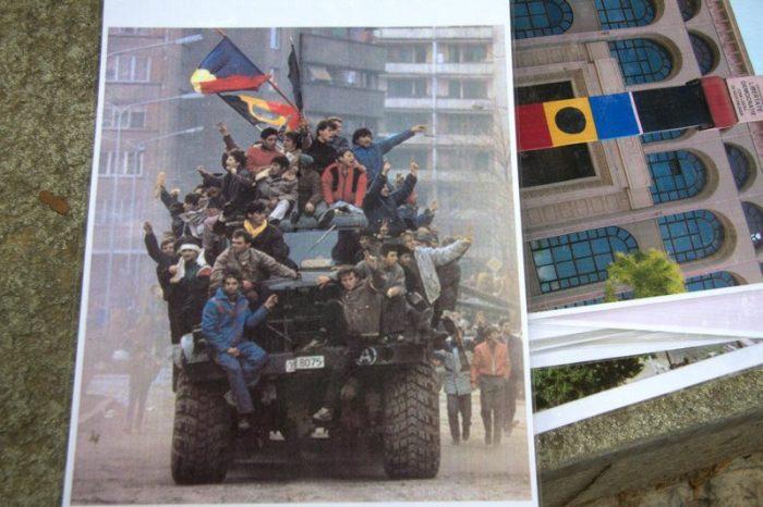 FOTO DE LA REVOLUCIÓN RUMANA