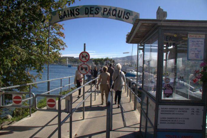BAINS DES PAQUIS, GINEBRA