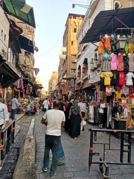 MERCADO JAN EL JALILI EN EL CAIRO