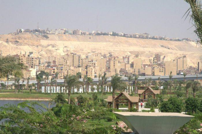 VISTAS DESDE EL MUSEO NMEC EN EL CAIRO