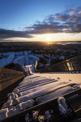 Wat te doen in Oslo - Holmenkollen skischans