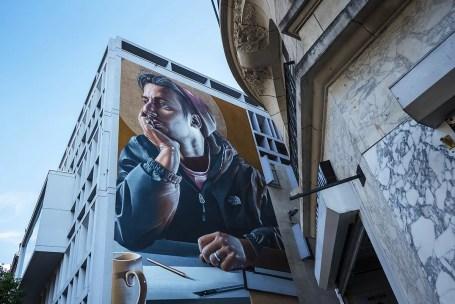 Street Art op Meir