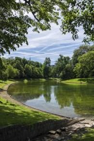 Stadspark vijver Antwerpen