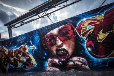 Streetart Zomerfabriek Minkelersstraat Antwerpen