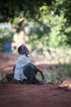Dorpskind bij Fisherman's Rest Malawi