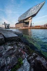 Het nieuwe Port of Antwerp Havenhuis van Zaha Hadid