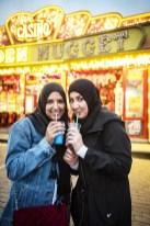 Wat te doen in Borgerhout: twee leuke meisjes op de Sinksenfoor