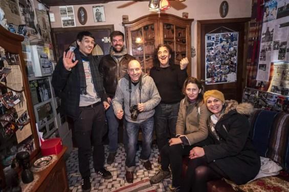 Groepsfoto met Enrico in Charleroi