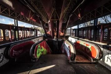 Inside ghost metro Charleroi