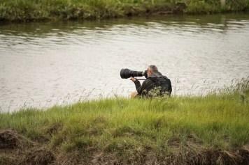 Vogelspotter in actie
