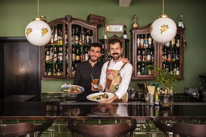 Italiaanse restaurants in Antwerpen - Cipiace barmannen