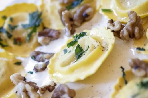 Italiaanse restaurants in Antwerpen - Pastificio Da Lory Closeup