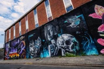Street Art in Antwerpen - Meeting of Styles various artists