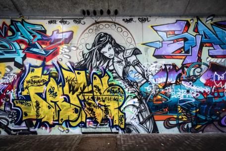 Street Art in Antwerpen - Luchtbal
