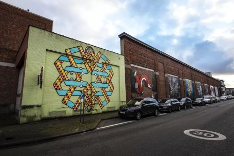 Street Art in Antwerpen - Merksem-11