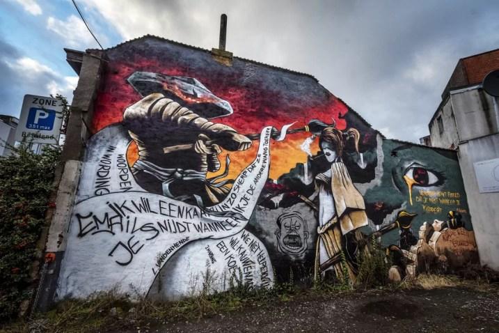 Street Art in Antwerpen - Merksem