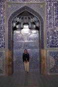 Els in blauwe moskee