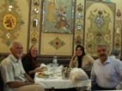 Uit eten met raoul en zijn vrouw