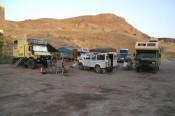 met zun allen op Camping Murat