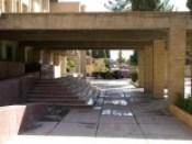 Voor hotel in Kerman