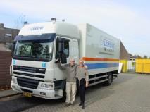 Vrachtwagen rijles