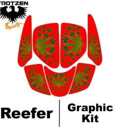 suzuki lt250r quadracer lt 250 r red reefer graphic kits [ 1024 x 1024 Pixel ]
