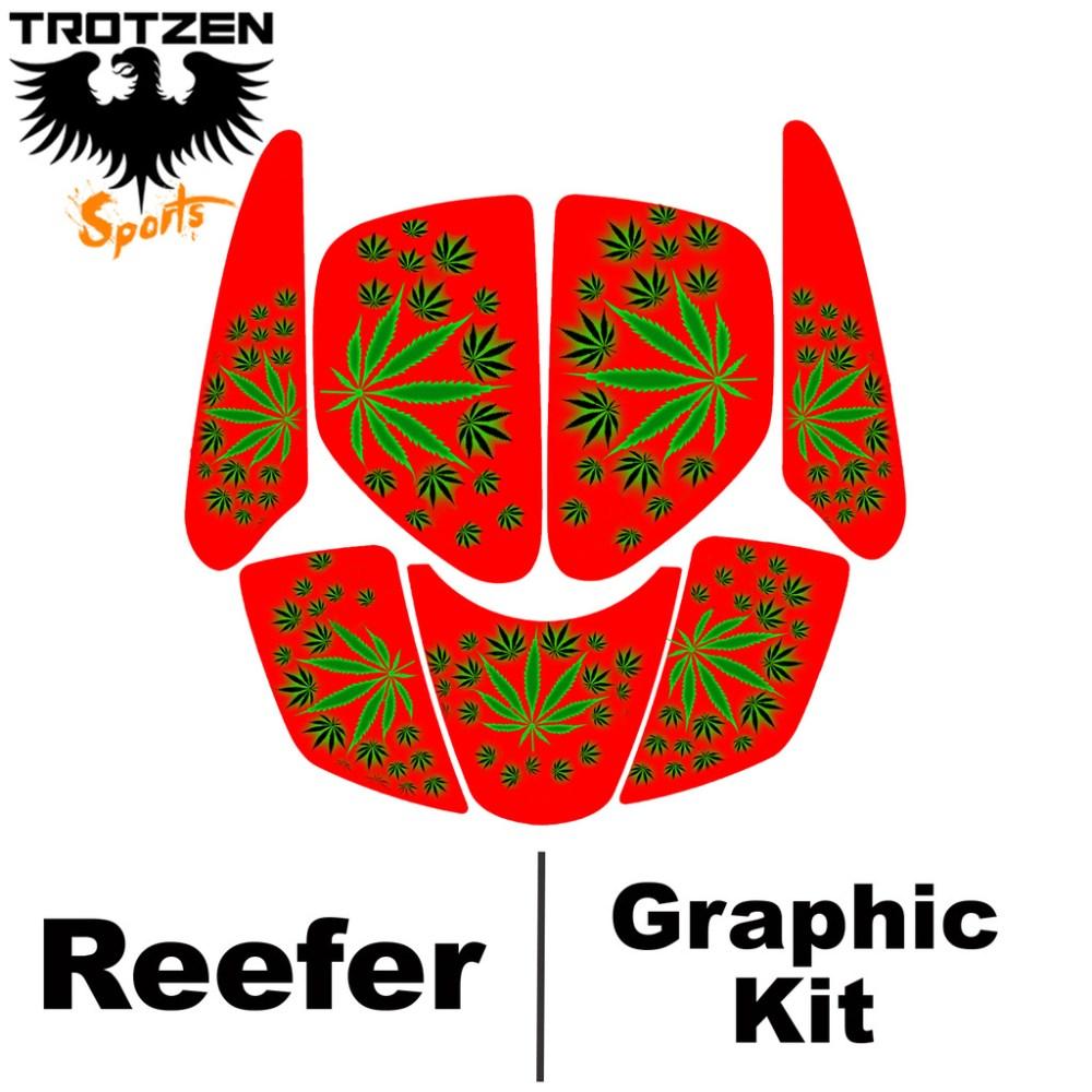 medium resolution of suzuki lt250r quadracer lt 250 r red reefer graphic kits