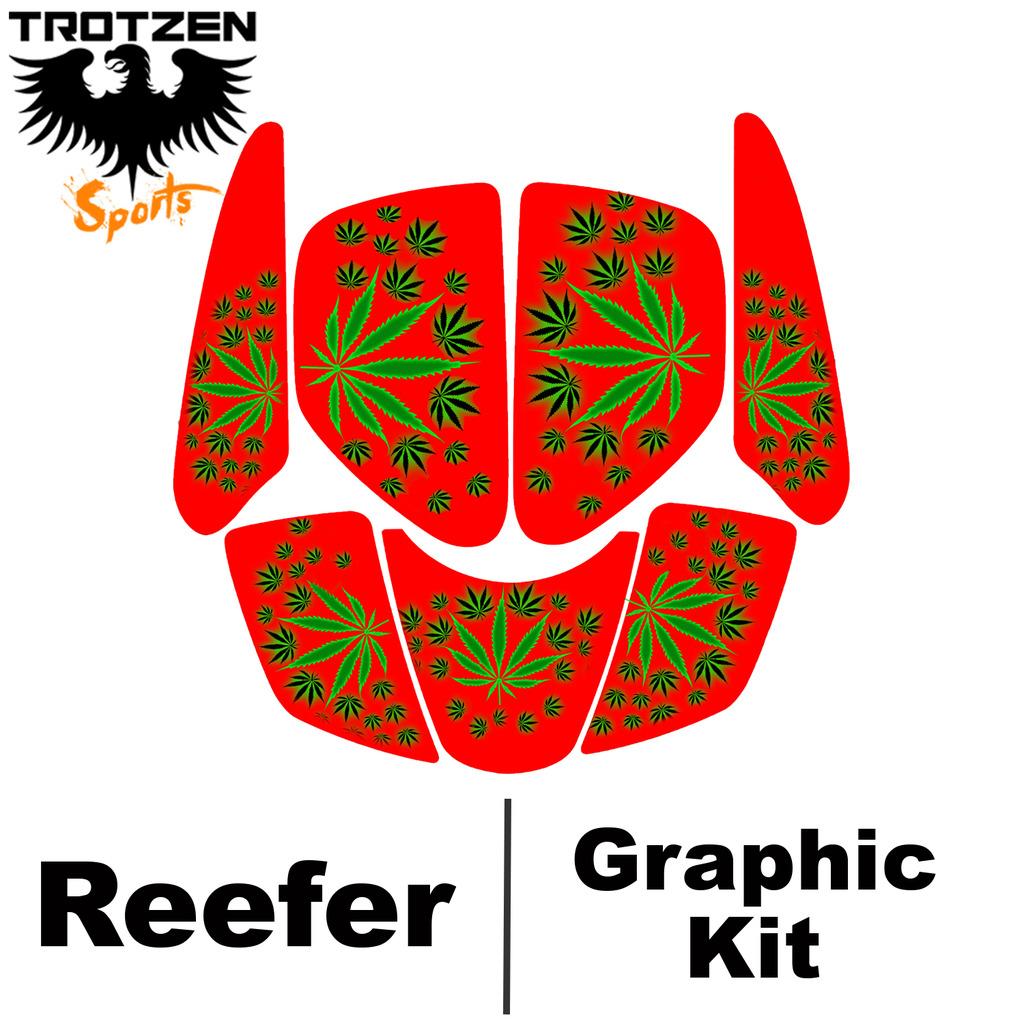 hight resolution of suzuki lt250r quadracer lt 250 r red reefer graphic kits