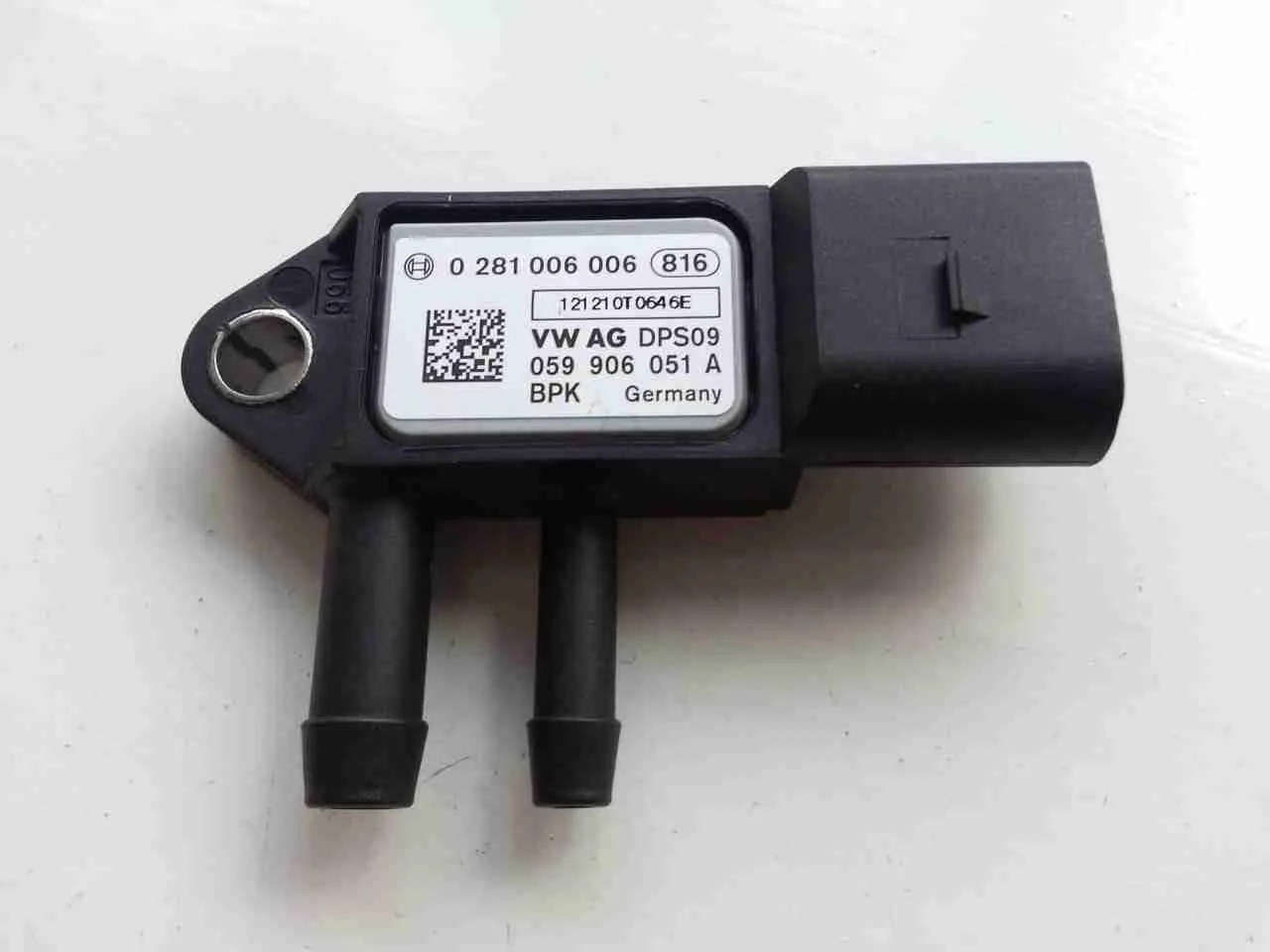 hight resolution of dpf sensor