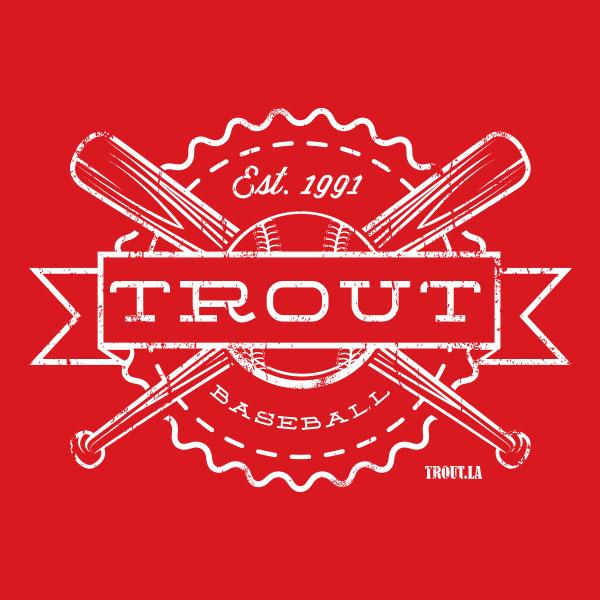 Vintage Trout Baseball