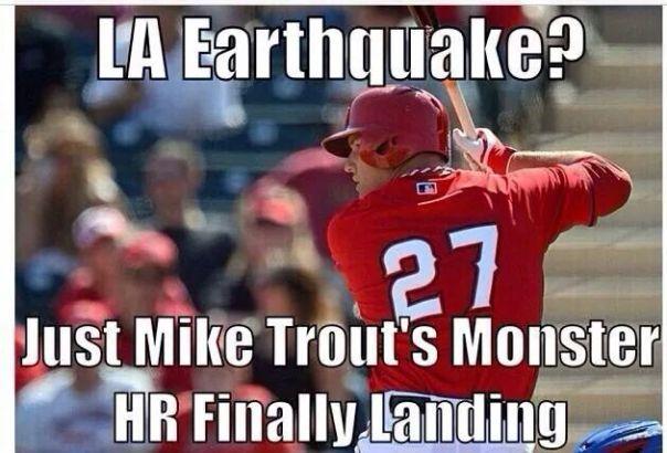 Trout HR landing