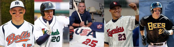 Mike Trout Minor League Uniforms