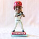 Garrent Anderson 2005 Angels Bobblehead