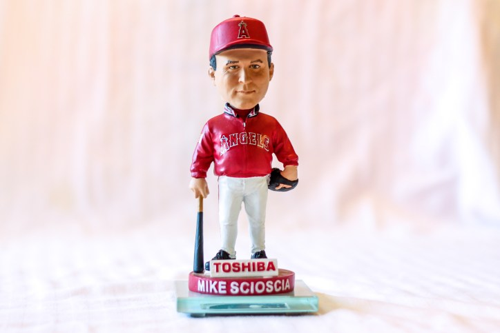 Mike Sciosicia 2008 Angels Bobblehead