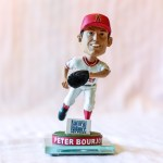Peter Bourjos 2012 Angels Bobblehead