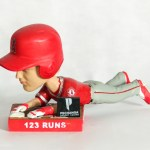 2017 Angels Mike Trout MVP 3/3 Sliding Bobblehead