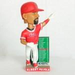 2017 Angels Albert Pujols 600 home run Bobblehead