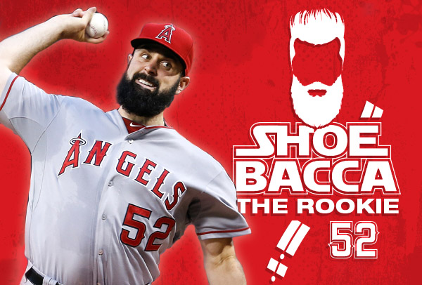 Shoebacca the rookie Angels pitcher
