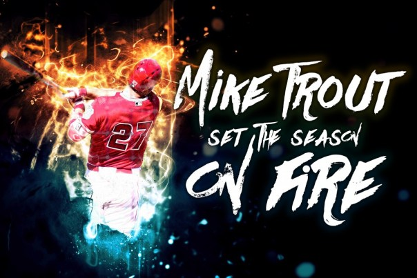 Mike Trout desktop image