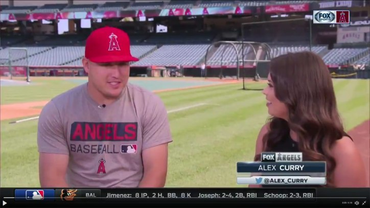 Alex Curry interviews Mike Trout