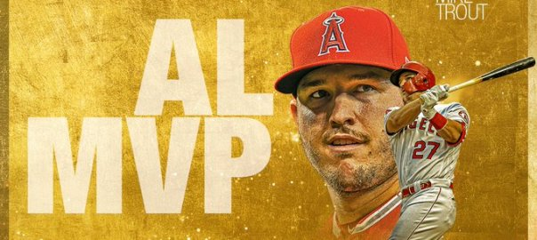 Mike Trout 2019 AL MVP