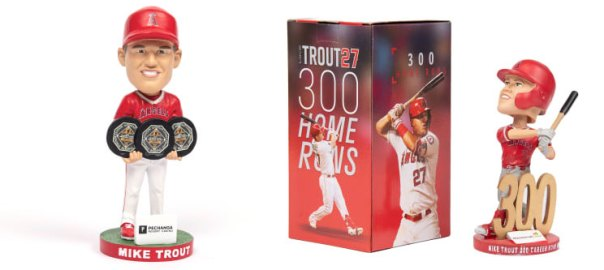 Mike Trout 2021 stadium promotions
