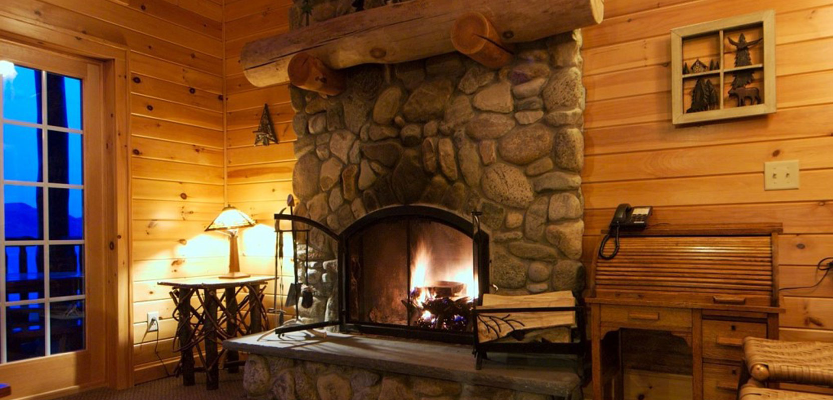 Lake George Log Cabins Cottages  Accommodations