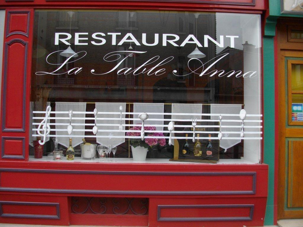 restaurant la table d anna restaurant reims 51 marne
