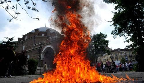 sofia Mosquée attaquée en Bulgarie