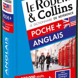 DICTIONNAIRE LE ROBERT & COLLINS POCHE PLUS ANGLAIS ET SA VERSION NUMÉRIQUE À TELECHARGER